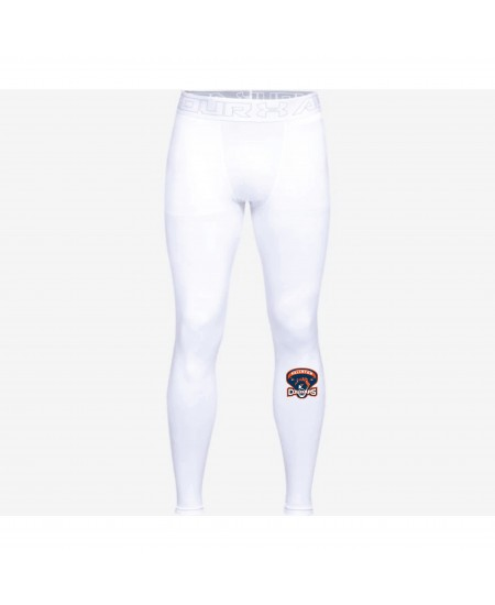 Fallston Lacrosse Under Armour Adult and Youth Cold Gear Leggings- White