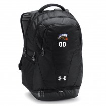Jaguars AAU Under Armour Hustle Backpack- Black