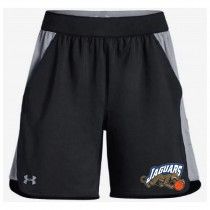 Jaguars AAU Women's Under Armour Game Time Shorts- Black