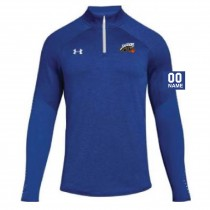 Jaguars AAU Men's Under Armour Qualifier Hybrid 1/4 Zip- Royal