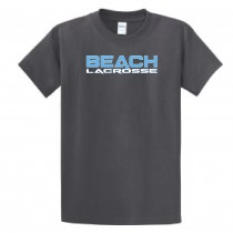 Beach Cities Lacrosse Men's & Youth Essential Short Sleeve Tee - Charcoal
