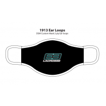 E3 Girls Lacrosse Custom Facemask- Black