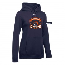 Fallston Lacrosse Women's Under Armour Hustle Fleece Hoodie- Navy