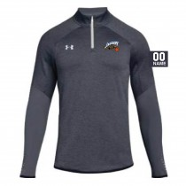Jaguars AAU Men's Under Armour Qualifier Hybrid 1/4 Zip- Grey