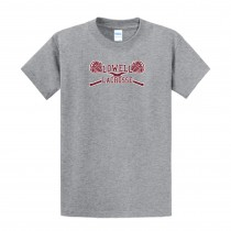 Lowell Lacrosse Youth Essential Tee- Athletic Grey
