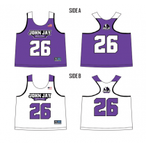 John Jay Youth Lacrosse Girls' Sublimated Racerback Pinnie
