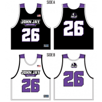 John Jay Youth Lacrosse Boys' Sublimated Pinnie