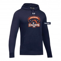 Fallston Lacrosse Adult and Youth Under Armour Hustle Fleece Hoodie- Navy