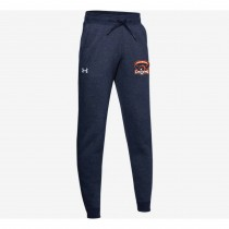 Fallston Lacrosse Adult and Youth Under Armour Hustle Fleece Jogger-Navy
