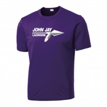 John Jay Youth Boys Lacrosse Men's and Youth Sanmar Competitor Tee