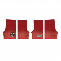 Wakefield Lacrosse Custom Sublimated Shorts- Red