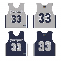 Littleton Thunder Youth Lacrosse Club Unique Reversible