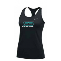 E3 Girls Lacrosse Nike Tank 2.0- Black