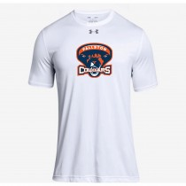 Fallston Lacrosse Adult and Youth Under Armour SS Locker Tee- White
