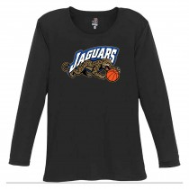 Jaguars AAU Women's Badger B-Core Long Sleeve Tee- Black