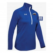 Jaguars AAU Women's Under Armour Qualifier Hybrid 1/4 Zip- Royal