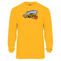 Jaguars AAU Men's Badger B-Core Long Sleeve Tee- Gold