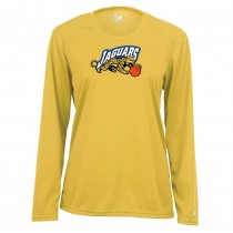Jaguars AAU Women's Badger B-Core Long Sleeve Tee- Gold