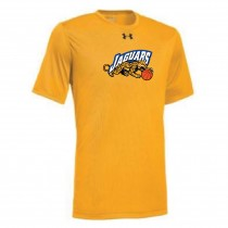 Jaguars AAU Men's Under Armour Short Sleeve Locker Tee- Gold