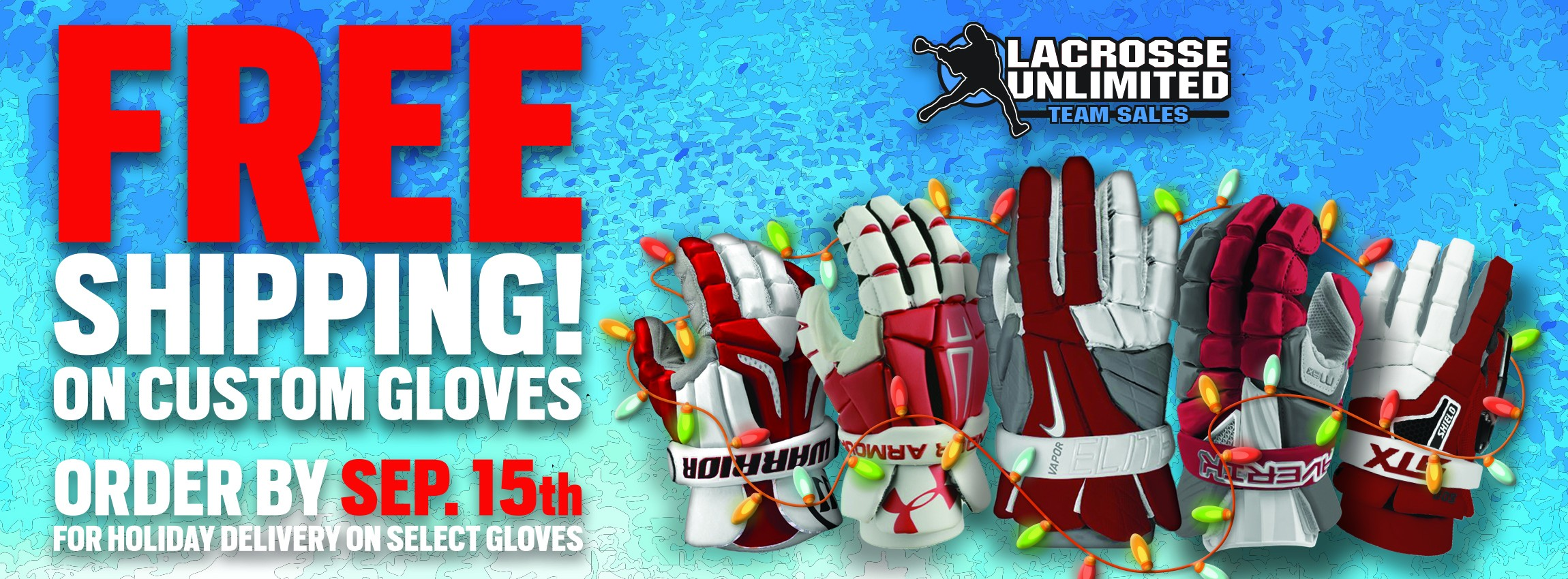 Custom Lacrosse Gloves By Holiday Time