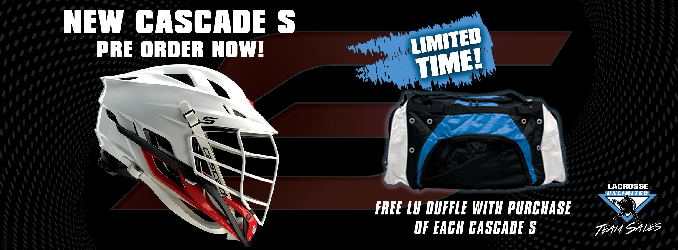 Get New Cascade S Now and Get Free Bag.