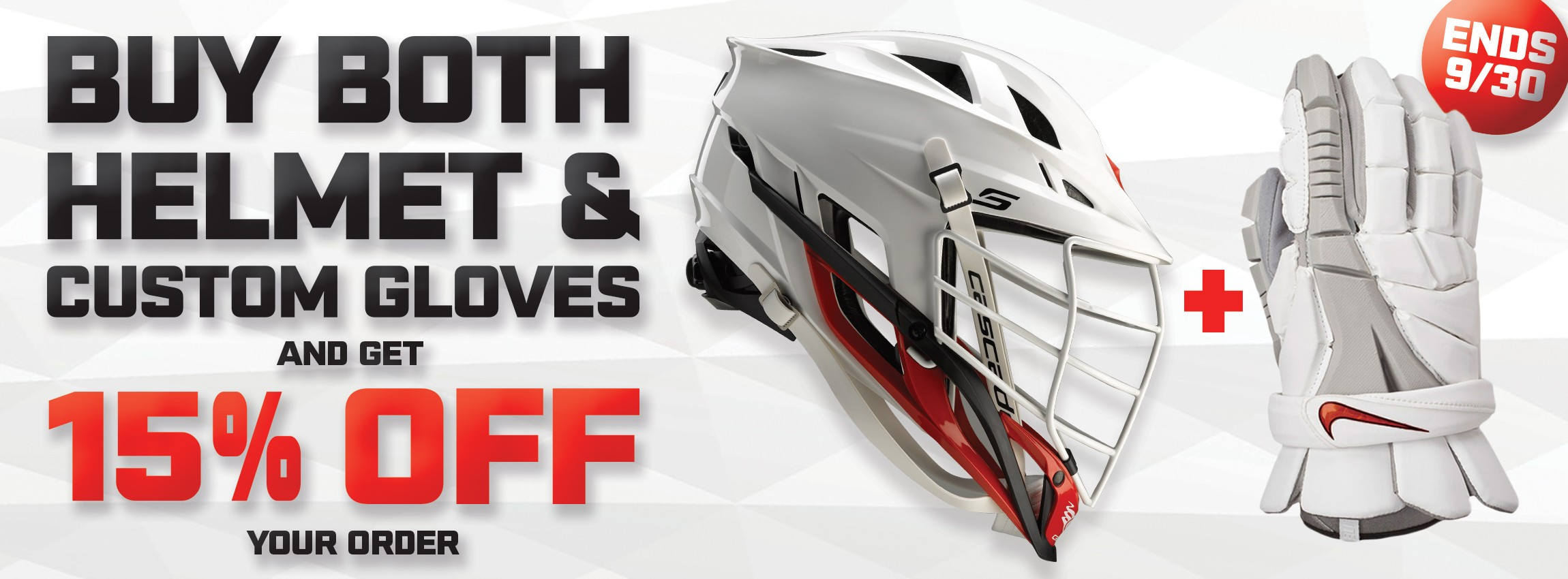 FREE Shipping on Custom Gloves and Helmets with 15% OFF - Lacrosse Unlimited