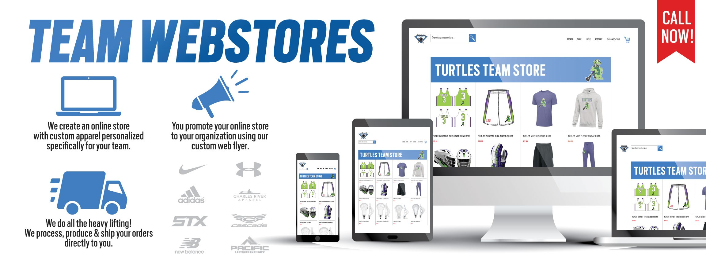 Get Your Team A Web Store - Custom Lacrosse Team Web Stores